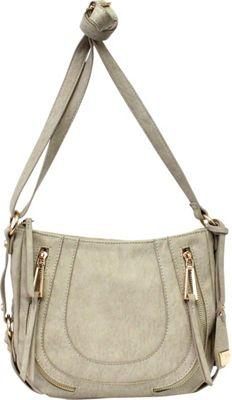 Image of Jessica Simpson Kendall Crossbody Cloud Grey - Jessica Simpson Manmade Handbags