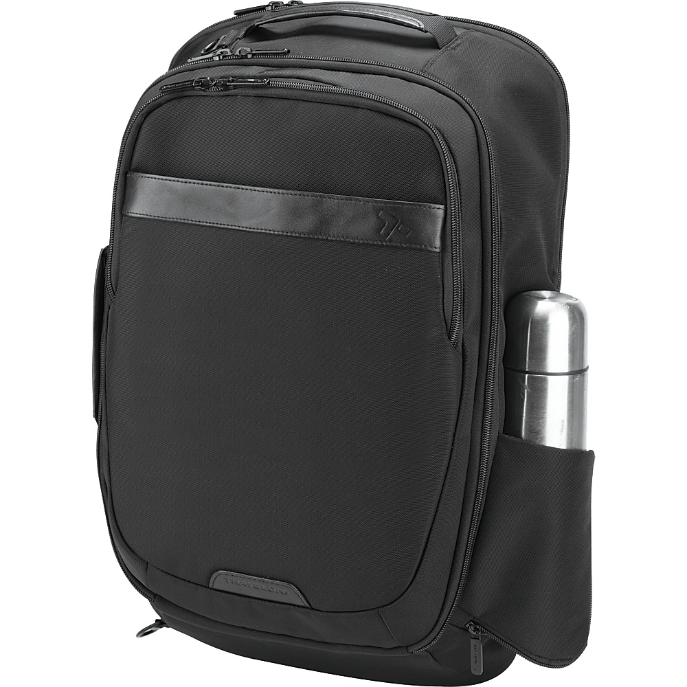 Travelon Anti-theft Classic Plus Convertible Backpack Black - Travelon Business & Laptop Backpacks
