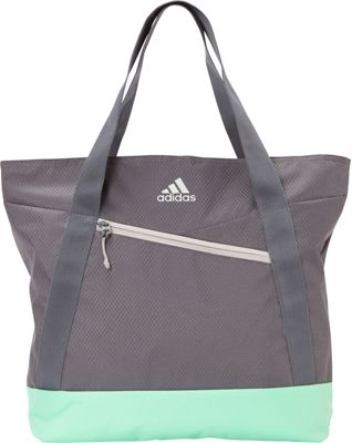 Adidas equipo III bolsa de lona, un tamaño, Clear Aqua / Onix / Sun Glow de