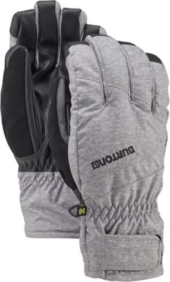 Burton Mens Profile Glove S - Monument Heather - Burton Hats/Gloves/Scarves