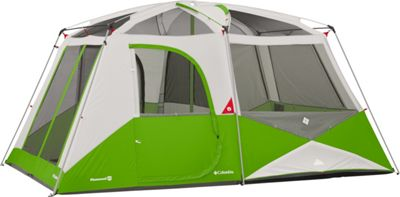 Columbia Sportswear Pinewood 10 Person Cabin Tent Fuse Green - Columbia Sportswear Outdoor Accessories