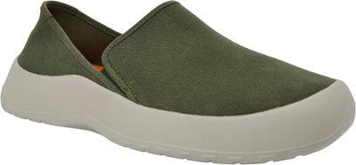 SoftScience Unisex Drift Canvas Espadrille Slip-On Men's 8/Women's 10 - Sage - SoftScience Men's Footwear