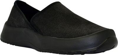SoftScience Unisex Drift Canvas Espadrille Slip-On Men's 7/Women's 9 - True Black - SoftScience Men's Footwear