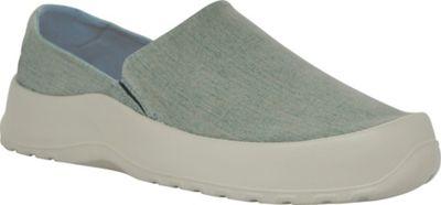 SoftScience Unisex Drift Canvas Espadrille Slip-On Men's 3/Women's 5 - Blue Denim - SoftScience Men's Footwear