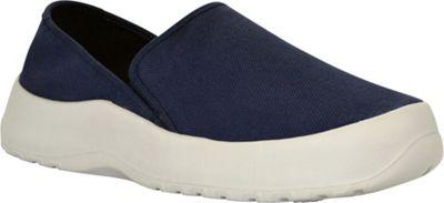 SoftScience Unisex Drift Canvas Espadrille Slip-On Men's 9/Women's 11 - Blue - SoftScience Men's Footwear