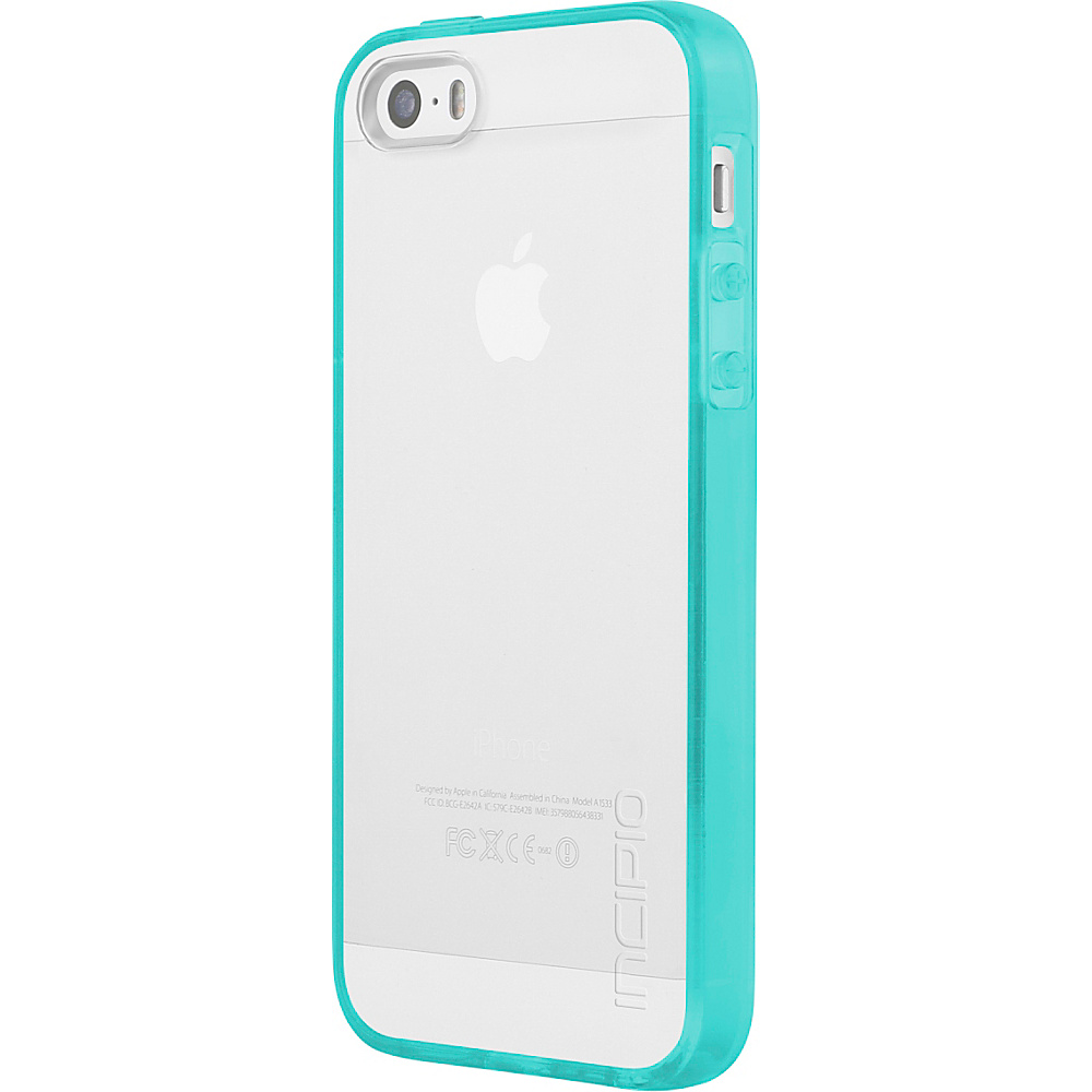 Incipio Octane Pure for iPhone 5/5s/SE Aqua - Incipio Electronic Cases - Technology, Electronic Cases