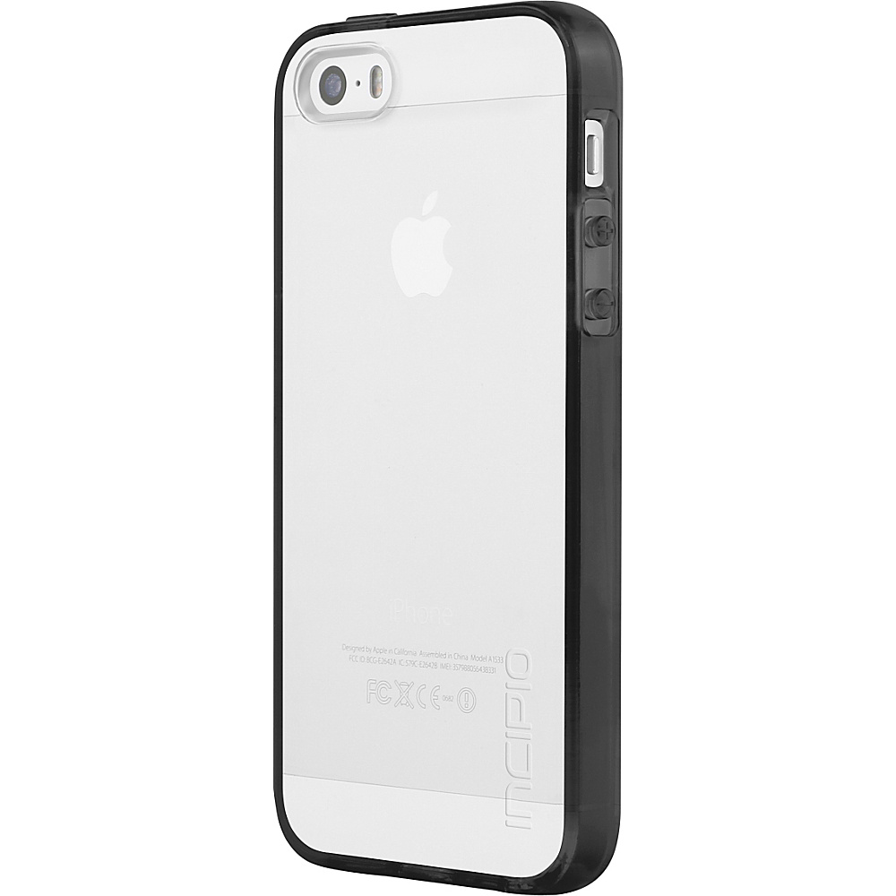 Incipio Octane Pure for iPhone 5/5s/SE Black - Incipio Electronic Cases - Technology, Electronic Cases