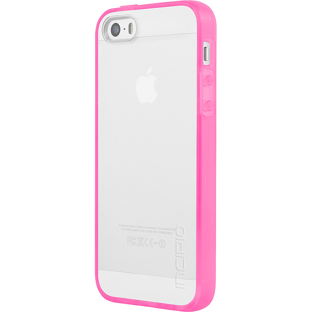 Incipio Octane Pure for iPhone 5/5s/SE Highlighter Pink - Incipio Electronic Cases - Technology, Electronic Cases