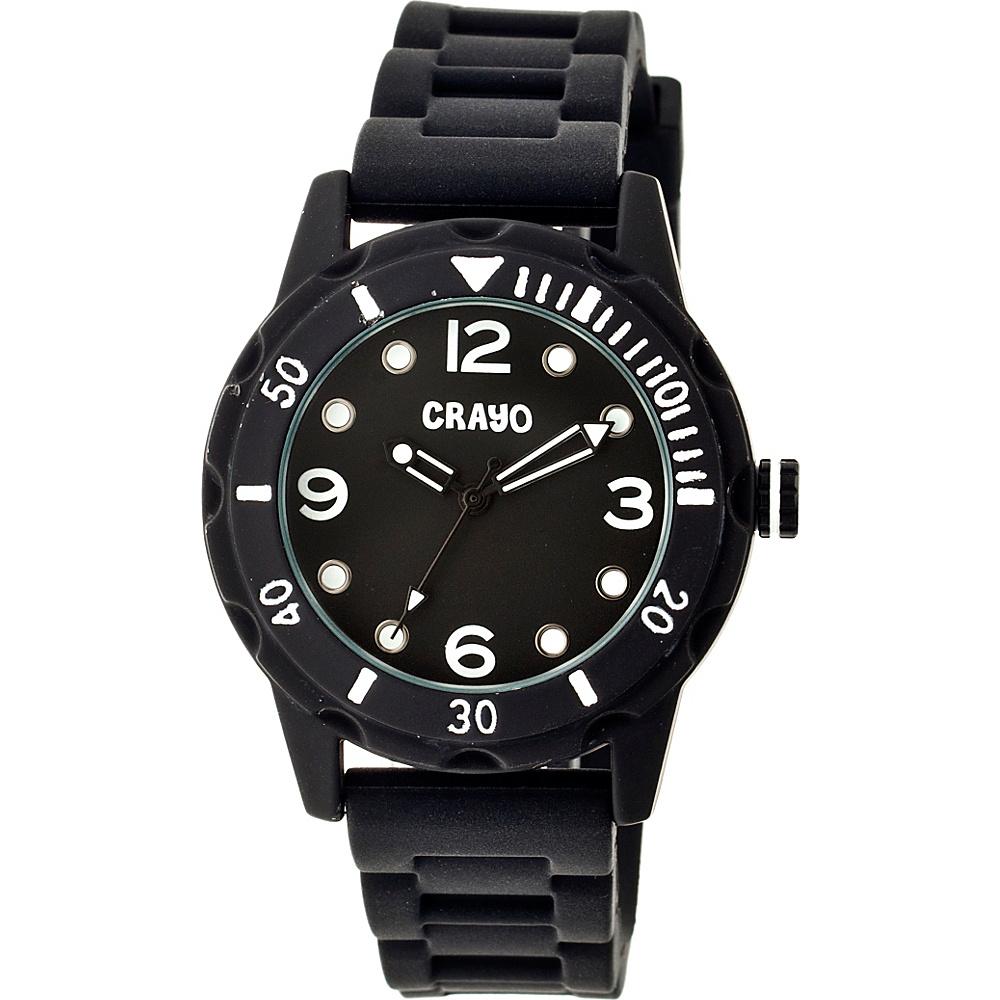 Crayo Splash Strap Watch Black Crayo Watches