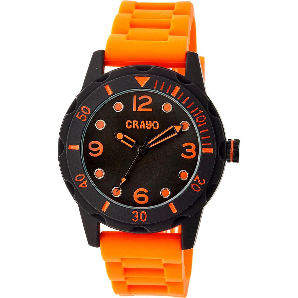 Crayo Splash Strap Watch Orange Crayo Watches