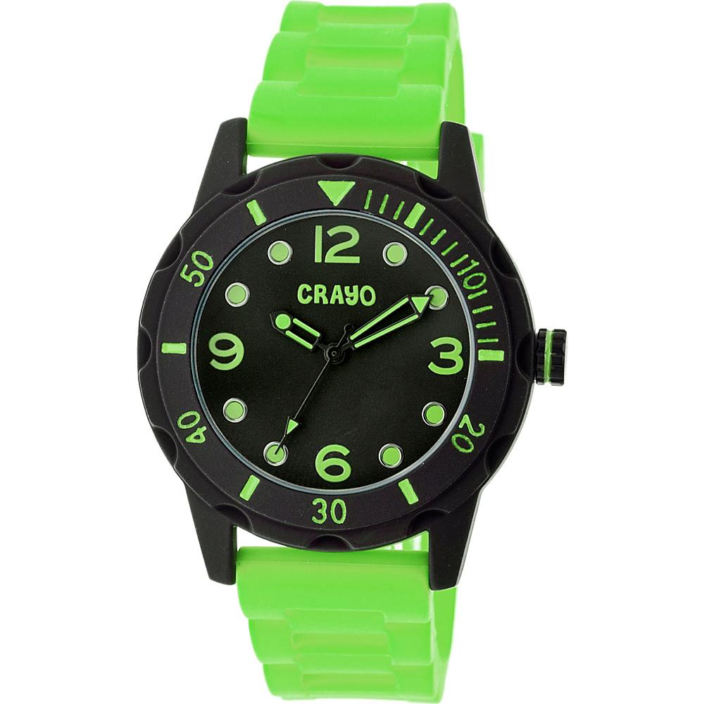 Crayo Splash Strap Watch Lime Crayo Watches
