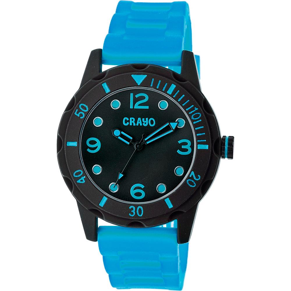 Crayo Splash Strap Watch Blue Crayo Watches