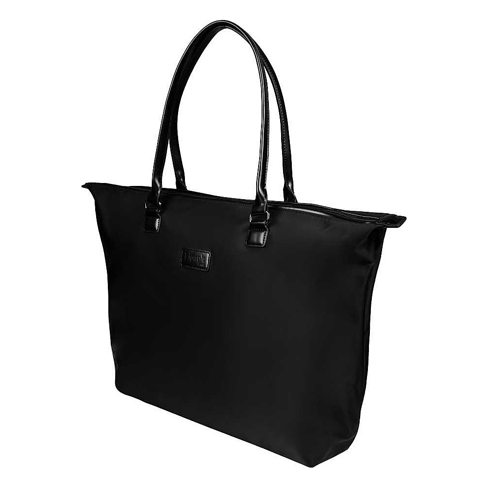 Lipault Paris Tote Bag Large Black Lipault Paris Luggage Totes and Satchels