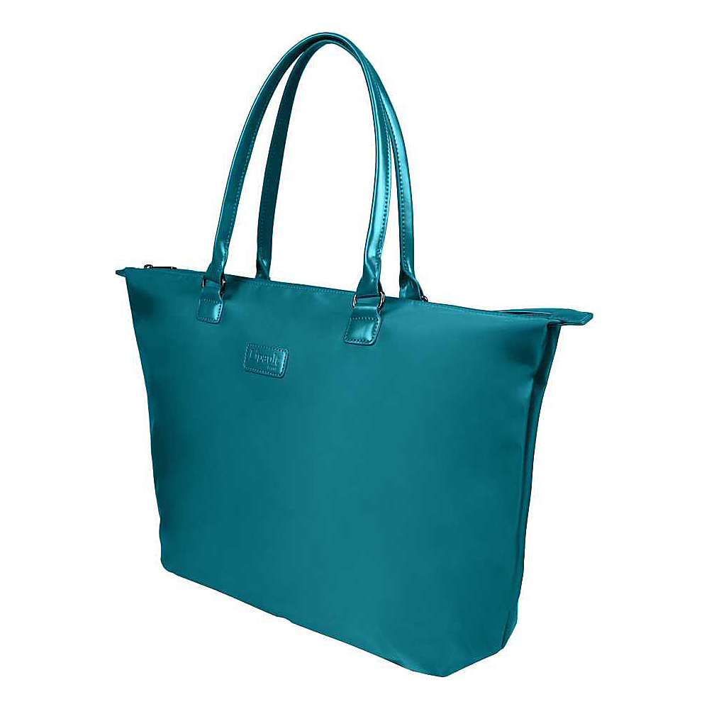 Lipault Paris Tote Bag Large Duck Blue Lipault Paris Luggage Totes and Satchels