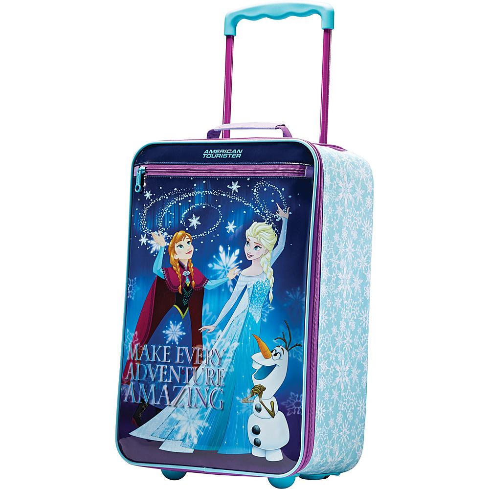 American Tourister Disney Softside 18 Upright Frozen American Tourister Softside Carry On