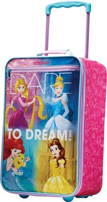American Tourister Disney Softside 18 inch Upright Princess - American Tourister Kids' Luggage