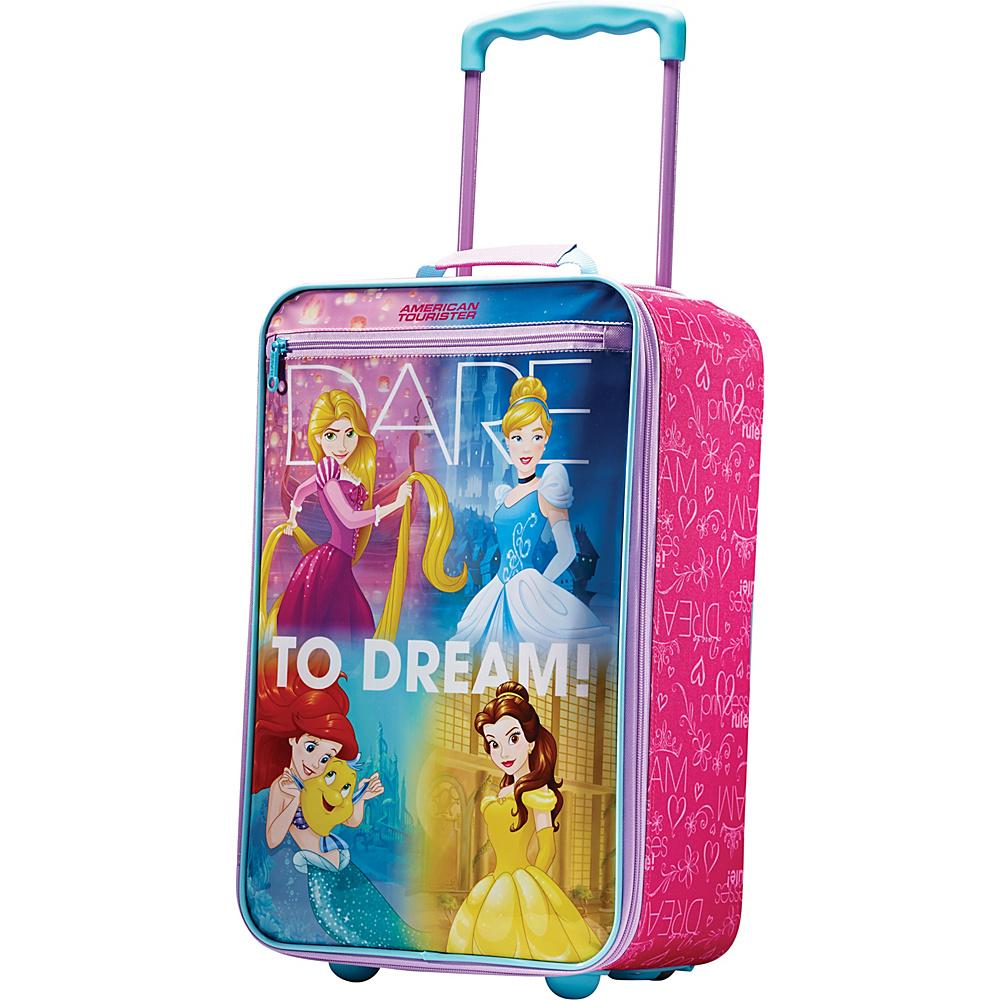 "American Tourister Disney Softside 18"" Upright Princess - American Tourister Softside Carry-On"
