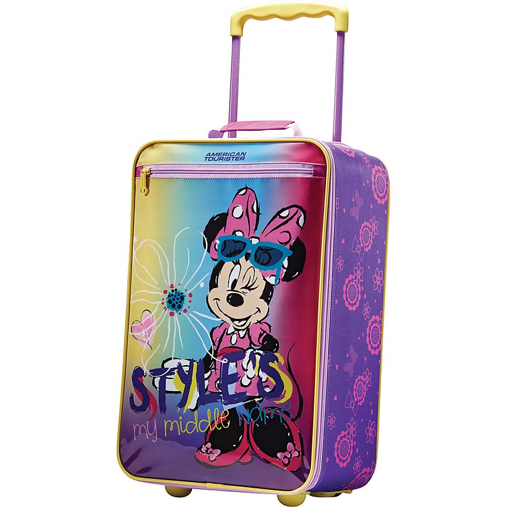 "American Tourister Disney Softside 18"" Upright Minnie - American Tourister Softside Carry-On"