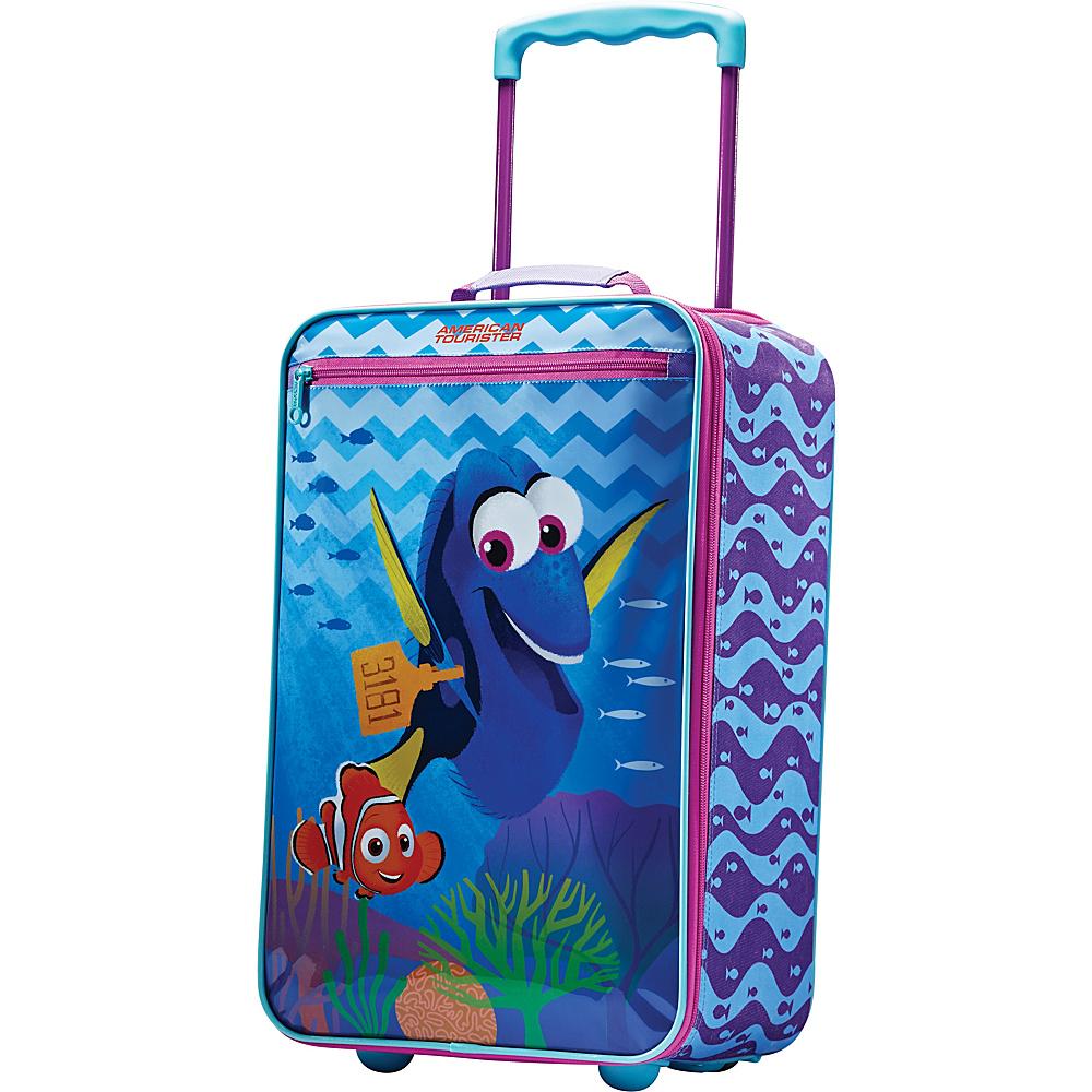 American Tourister Disney Softside 18 Upright Finding Dory American Tourister Softside Carry On