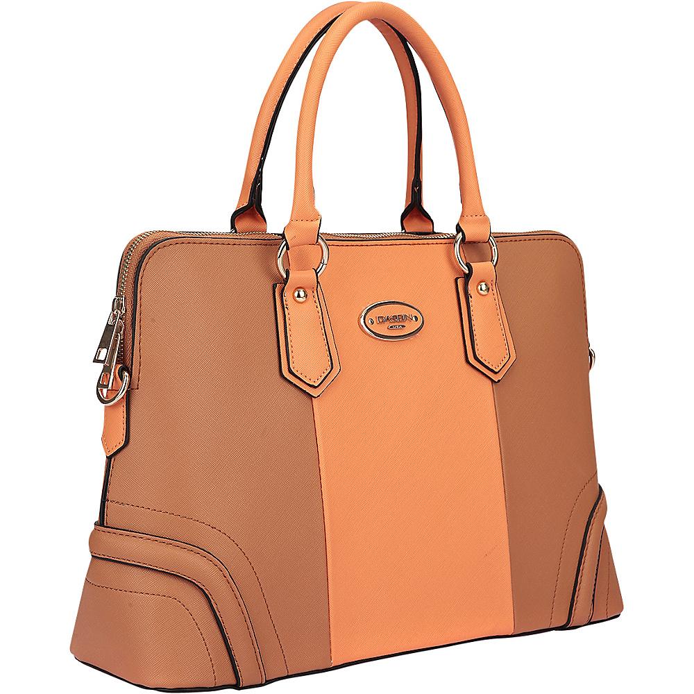 Dasein Colorblock Slim Briefcase with Removable Shoulder Strap Grey/Blue - Dasein Gym Bags