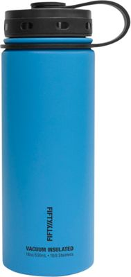 FIFTY/FIFTY Vacuum-Insulated Bottle-18oz Crater Blue - FIFTY/FIFTY Hydration Packs and Bottles
