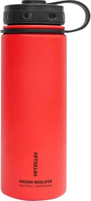FIFTY/FIFTY Vacuum-Insulated Bottle-18oz Apple Red - FIFTY/FIFTY Hydration Packs and Bottles