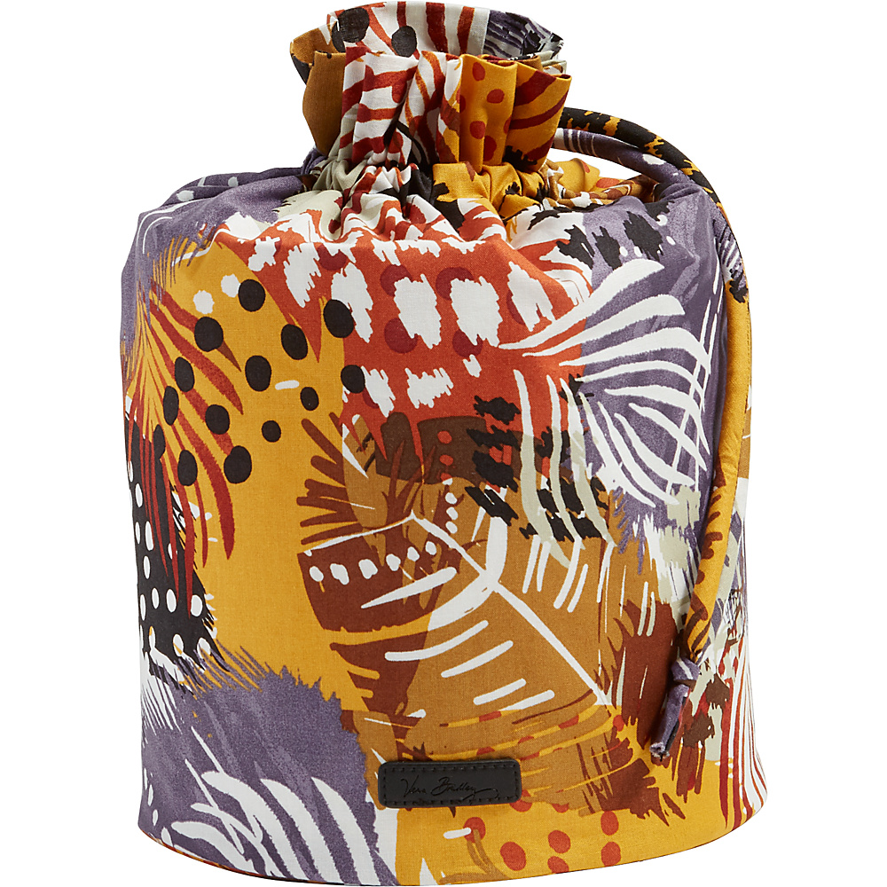 Vera Bradley Ditty Bag Painted Feathers - Vera Bradley Travel Organizers