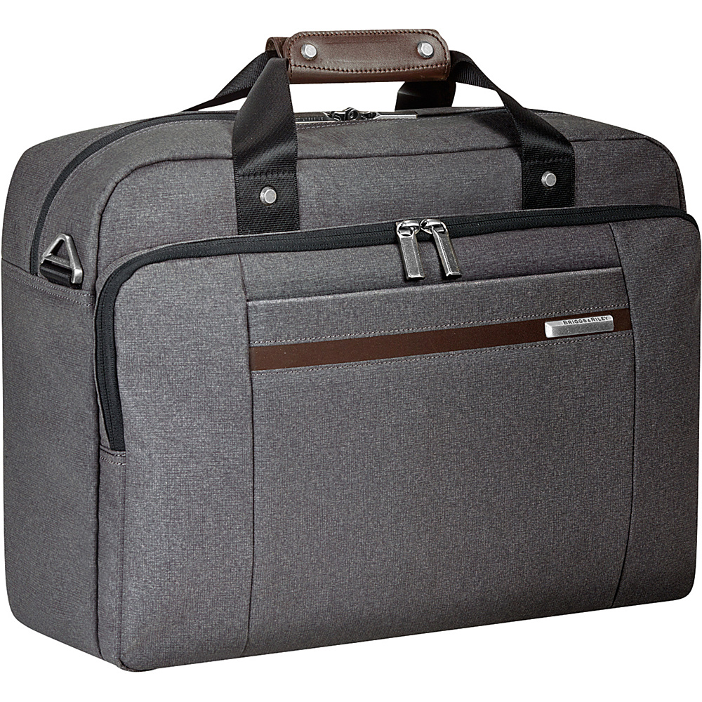 Briggs & Riley Kinzie Street Cabin Bag Grey - Briggs & Riley Luggage Totes and Satchels