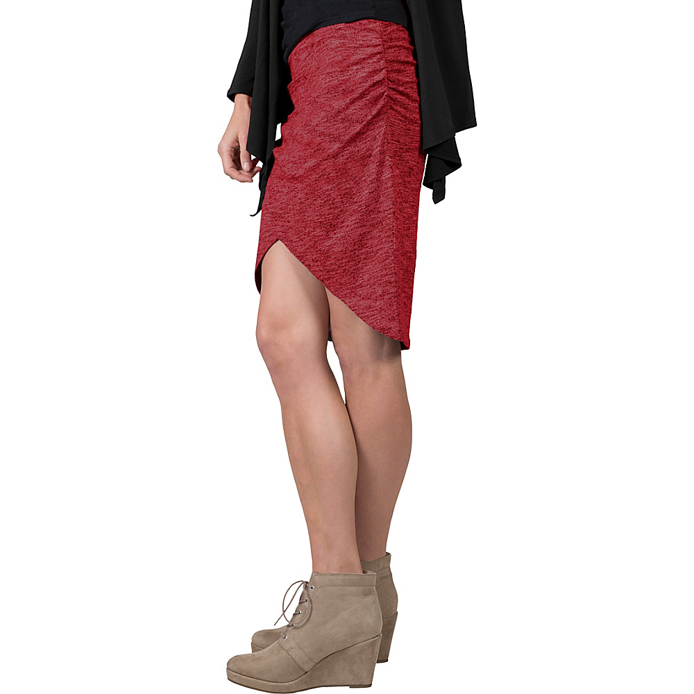Soybu Wren Skirt XL - Syrah - Soybu Womens Apparel - Apparel & Footwear, Women's Apparel