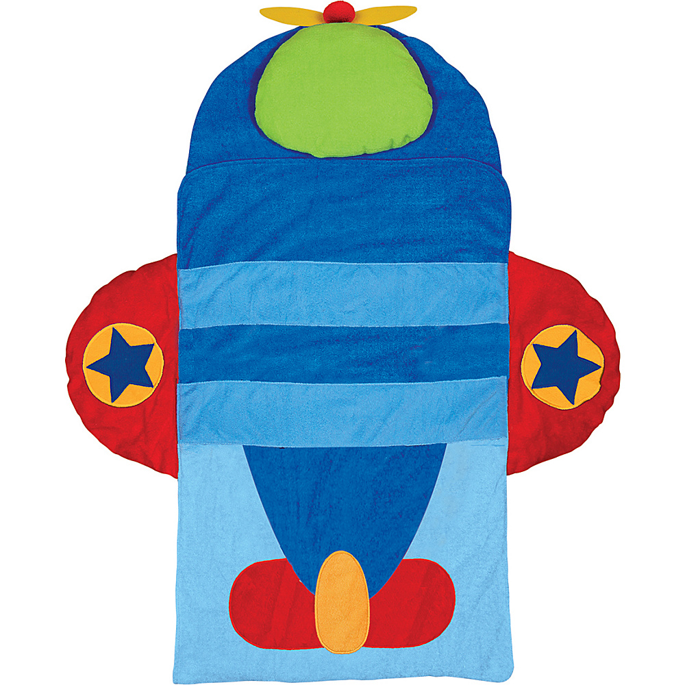 Stephen Joseph Nap Mat Airplane - Stephen Joseph Travel Pillows & Blankets - Travel Accessories, Travel Pillows & Blankets