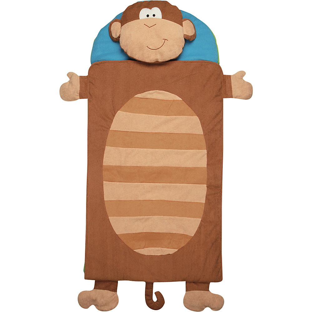 Stephen Joseph Nap Mat Monkey - Stephen Joseph Travel Pillows & Blankets - Travel Accessories, Travel Pillows & Blankets