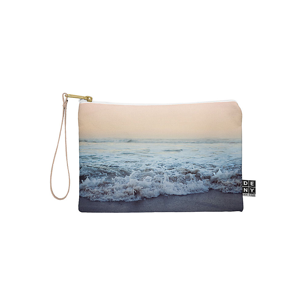 DENY Designs Leah Flores Pouch Ocean Blue Crash into Me DENY Designs Travel Wallets