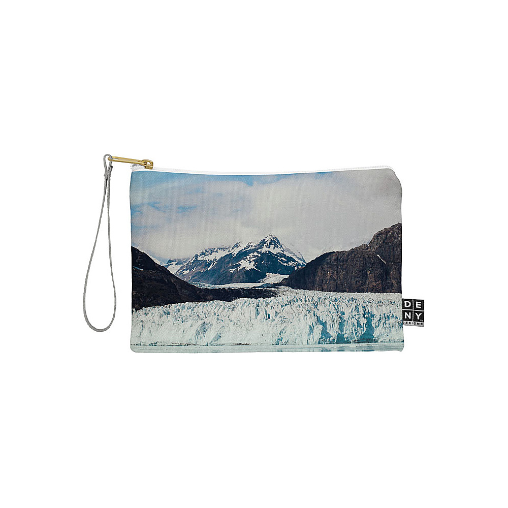 DENY Designs Leah Flores Pouch Sky Blue Glacier Bay National Park DENY Designs Travel Wallets