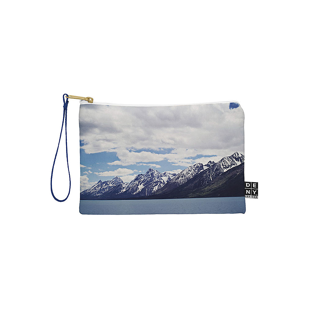 DENY Designs Leah Flores Pouch Ice Blue Grand Tetons x Colter Bay DENY Designs Travel Wallets