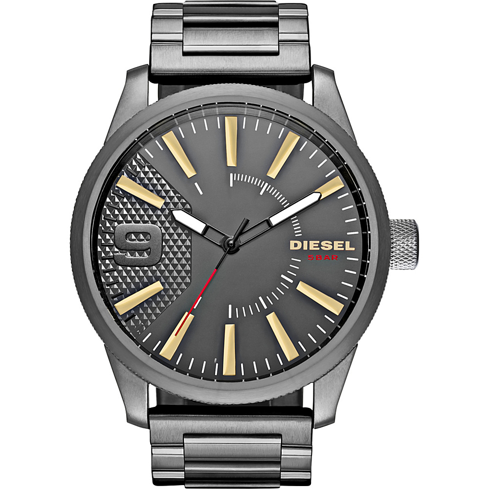 Diesel Watches Rasp Stainless Steel Watch Grey Diesel Watches Watches
