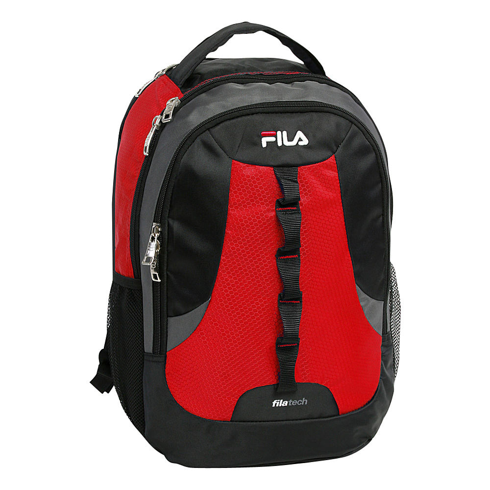 Fila Striker Tablet and Laptop Backpack Red Fila Everyday Backpacks