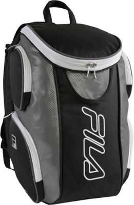 Fila Ultimate Tennis Backpack with Shoe Pocket Black/Grey - Fila Other Sports Bags