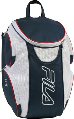 Fila Ultimate Tennis Backpack with Shoe Pocket Red/White/Blue - Fila Other Sports Bags