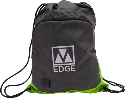 M-Edge Sack Pack with Battery Grey/Lime - M-Edge Everyday Backpacks