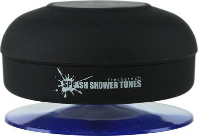 FRESHeTECH Splash Tunes Bluetooth Shower Speaker Black - FRESHeTECH Headphones & Speakers