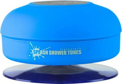 FRESHeTECH Splash Tunes Bluetooth Shower Speaker Blue - FRESHeTECH Headphones & Speakers