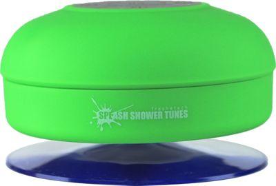 FRESHeTECH Splash Tunes Bluetooth Shower Speaker Green - FRESHeTECH Headphones & Speakers 10463059
