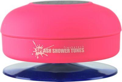 FRESHeTECH Splash Tunes Bluetooth Shower Speaker Pink - FRESHeTECH Headphones & Speakers