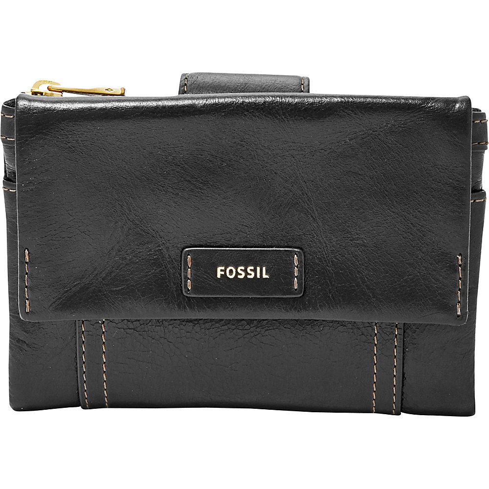 Fossil Ellis Multifunction Black - Fossil Womens Wallets - Women's SLG, Women's Wallets