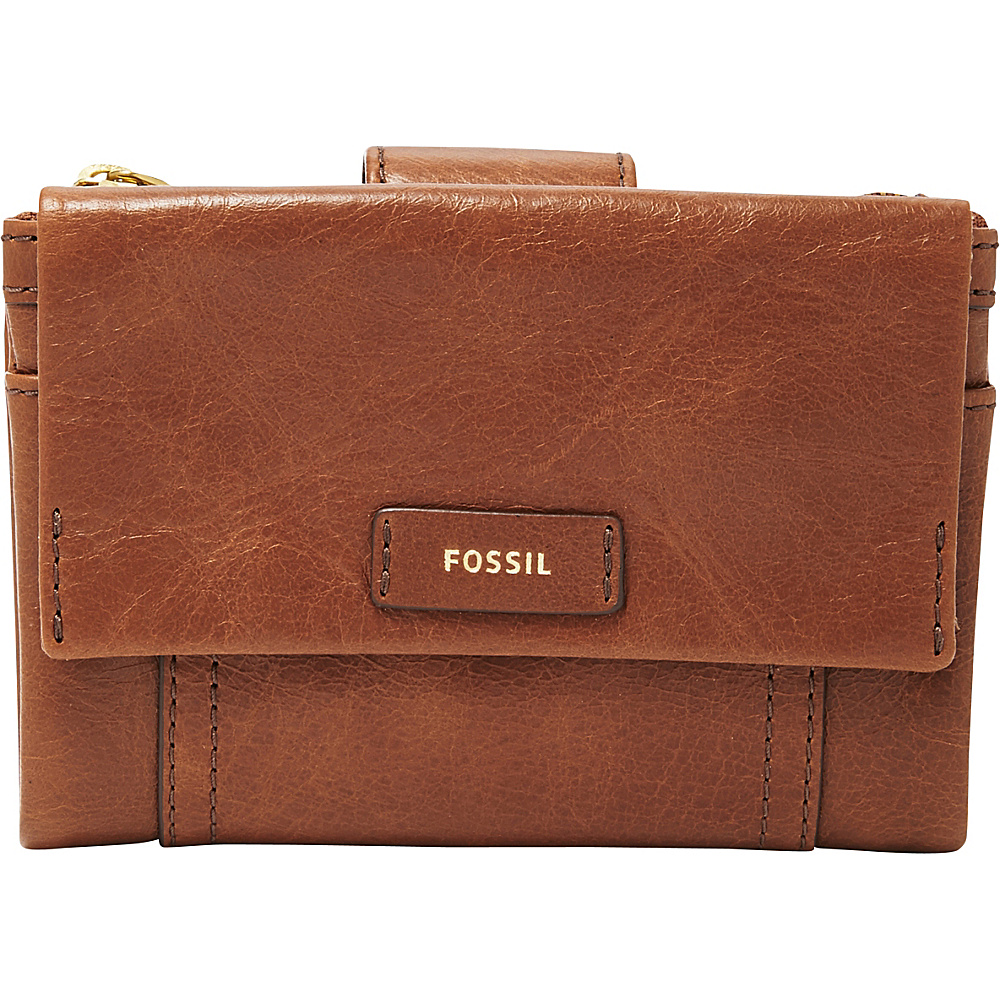 Fossil Ellis Multifunction Brown - Fossil Designer Handbags - Handbags, Designer Handbags