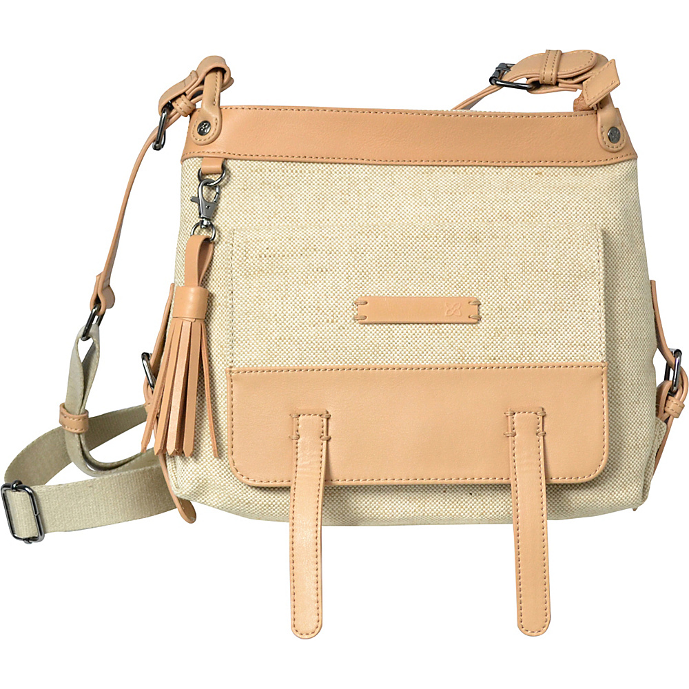 Sherpani Willow Crossbody Jute Canvas Sherpani Fabric Handbags