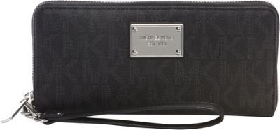 MICHAEL Michael Kors Jet Set Travel Continental Wallet Black - MICHAEL Michael Kors Women's Wallets