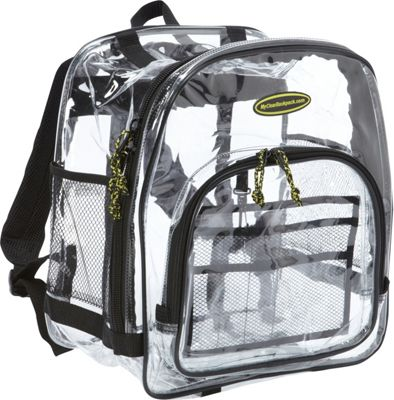 My Clear Backpack Varsity Backpack Clear - My Clear Backpack Everyday Backpacks