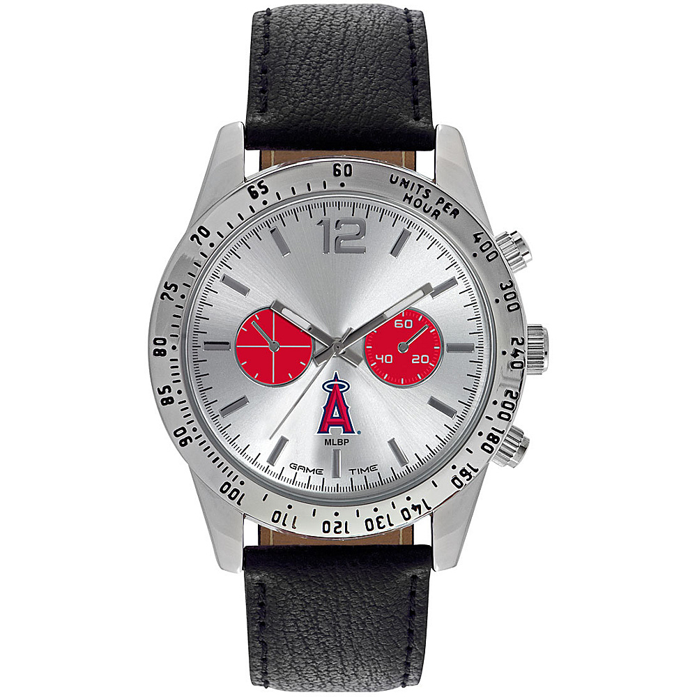 Game Time Mens Letterman-MLB Watch Los Angeles Angels - Game Time Watches - Fashion Accessories, Watches