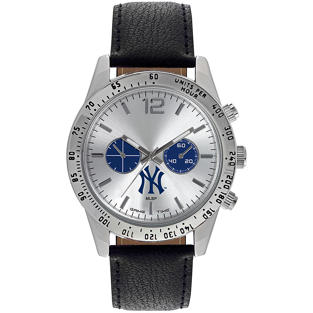 Game Time Mens Letterman-MLB Watch New York Yankees NY Logo - Game Time Watches - Fashion Accessories, Watches